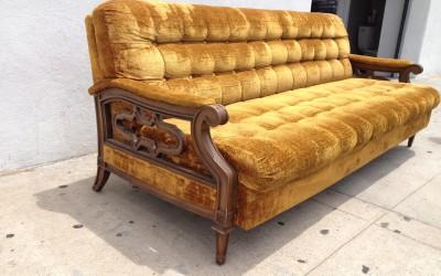 Moroccan Arm Sofa Before