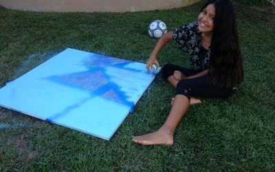Alexandra Spray Painting
