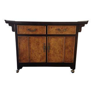Bernhardt Asian Style Bar Cart