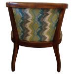 Elizabeth Caned & Upholstered Barrel Chair
