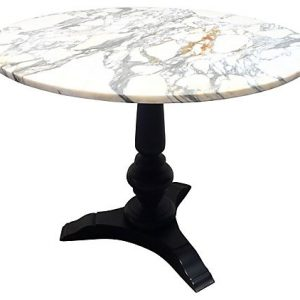 Cast Iron & Marble Bistro Table