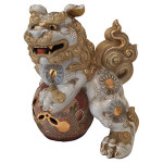 19th C. Japanese Foo Dogs, Pair