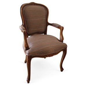 French Walnut Armchair