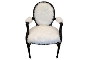 Sasha Faux Fur Armchair