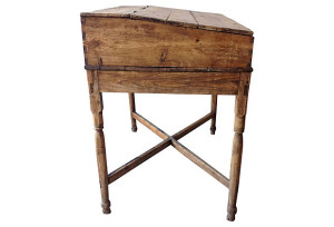 19th C. Rustic Pine Millers Table