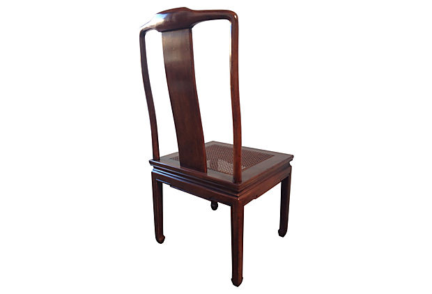 Henredon Asian Inspired Dining Chairs, S/8 - Modern Vintage Mix