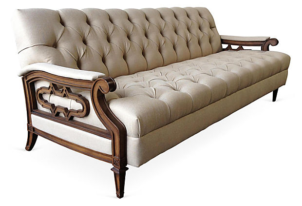 Jocelyn Tufted Sofa with Decorative Sides