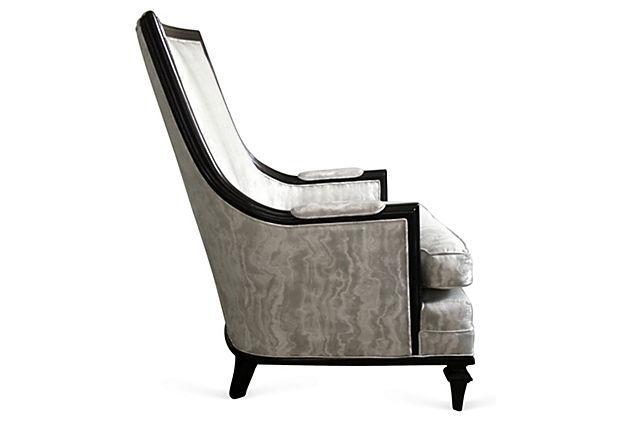 Larry High Back Club Chair
