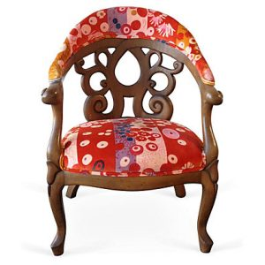 Jack Lenor Larsen Side Chair