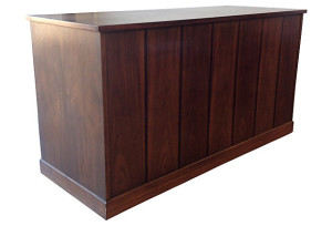 Royal American Rosewood and Walnut Desk