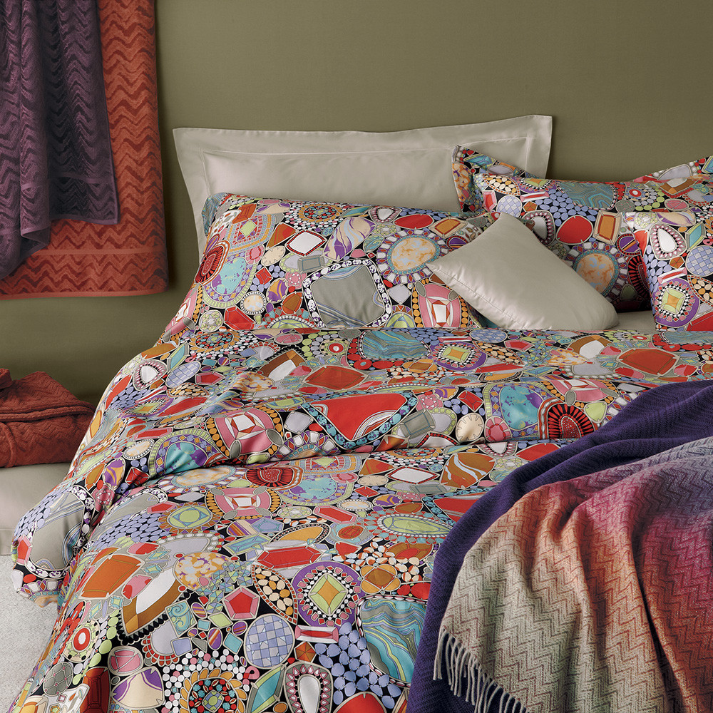 missoni bedding embroidered missoni janet bedding   htm - pillow pile up weekly modern vintage mix