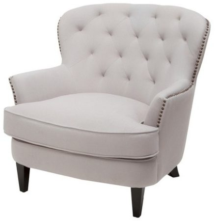 white-club-chair